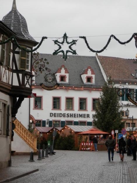 The main street through town.