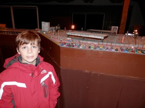 Model train exhibit