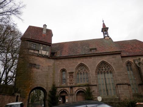 St. Wolfgangs Kirche Rothenburg