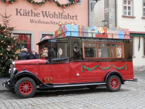 Käthe Wohlfahrt bus
