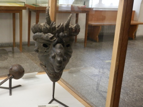mask in the Kriminalmuseum