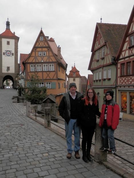 The Plönlein in Rothenburg