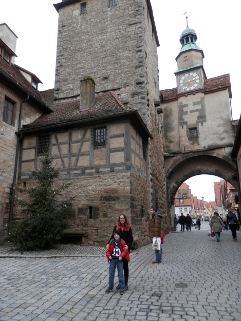 Kelly and Sam in Rothenburg