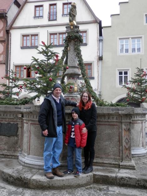 Mike, Kelly & Sam - Rothenburg