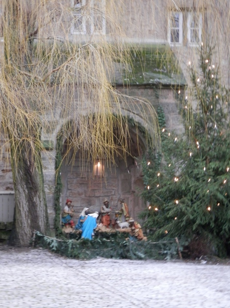 Franziskanerkirche nativity scene
