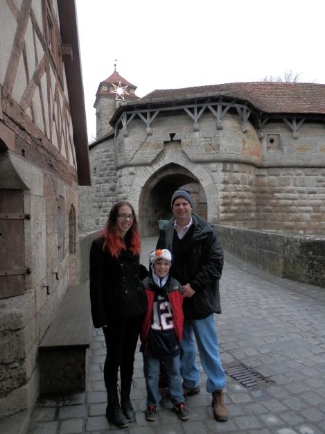 Spitalbastei gate Rothenburg