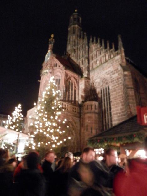Christkindlmarkt with Frauenkirche